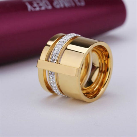 Stainless Steel Womens Finger Ring