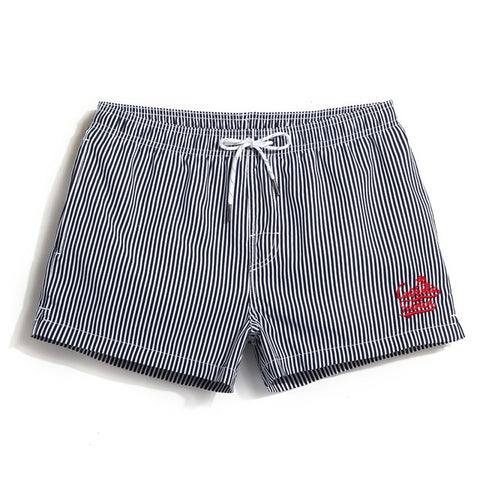 "Beach Shorts - ""Cali vocations Stripe"""