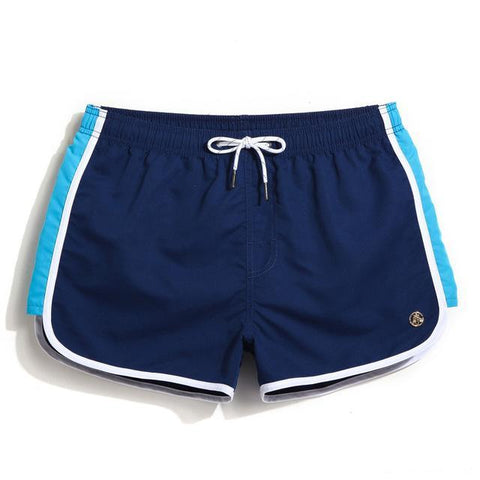 "Beach Shorts - ""Blue with stripe"""