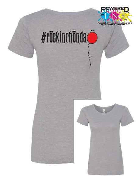 #rockinrhonda t-shirts