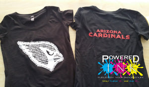 Arizona Cardinals T-shirt * One of a Kind * Limited Edition * T-shirts