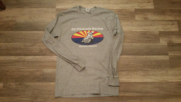 AZ Flattrack Racing Long Sleeve tee