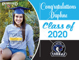 Graduate Yard Signs - With a Personalized Photo