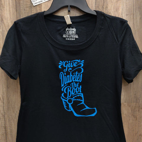 Give Diabetes the Boot Tee shirt