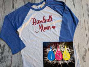 Baseball Mom Bling Jersey