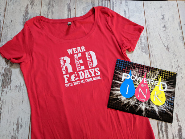 Wear R.E.D. Shirt Friday
