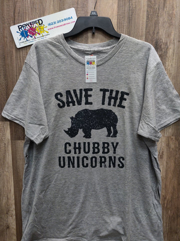 Save The Chubby Unicorns Unisex Tee