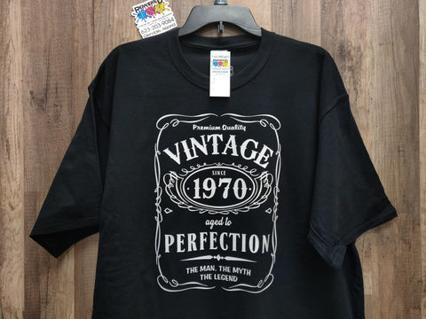 Vintage Since .........  Aged to Perfection