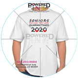 Seniors - The ones that were Quarantined 2020 T-shirts - FRIENDS style