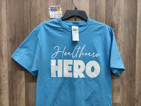 Healthcare HERO t-shirts