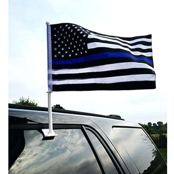 Car Flag with Pole