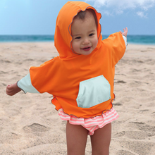 Load image into Gallery viewer, Kid's Sun Poncho ~ Unisex