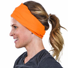 Load image into Gallery viewer, éclipse neck gaiter orange