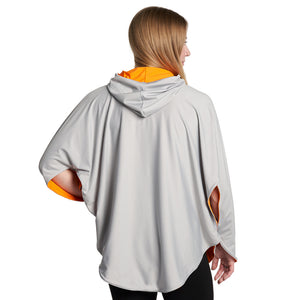 Eclipse reversible hoodie cover up