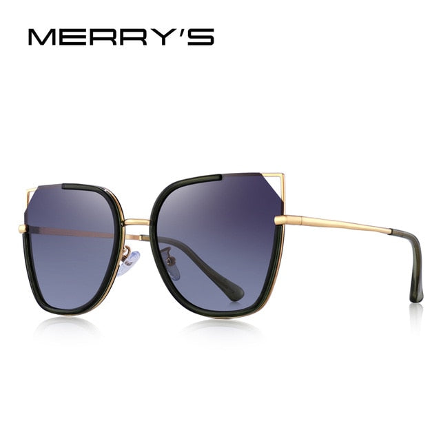 MERRYS DESIGN Women Cat Eye Polarized Sunglasses Luxury Ladies Fashion Trending Eyewear UV400 Protection S6262