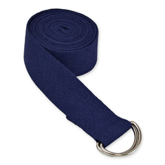 8' D-Ring Buckle Cotton Yoga Strap