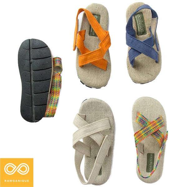 Children's Hemp Sandals