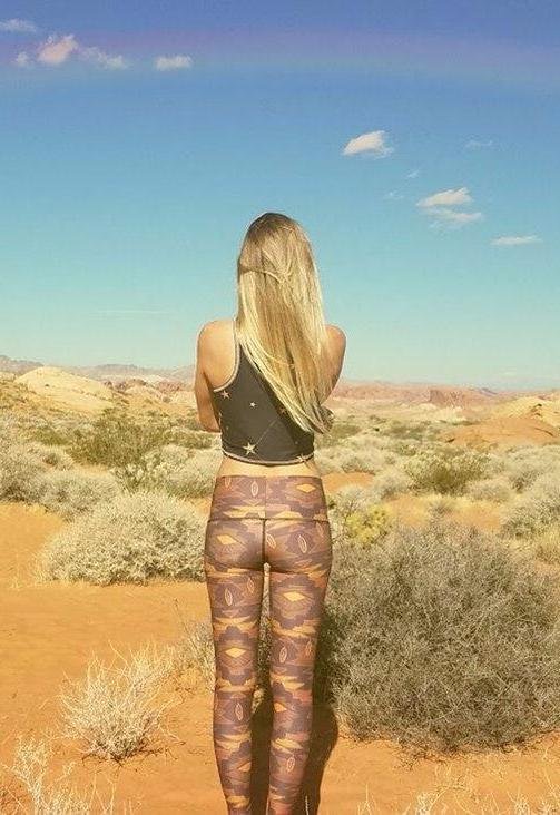 Southern Cross Eco-Friendly Yoga Hot Pants