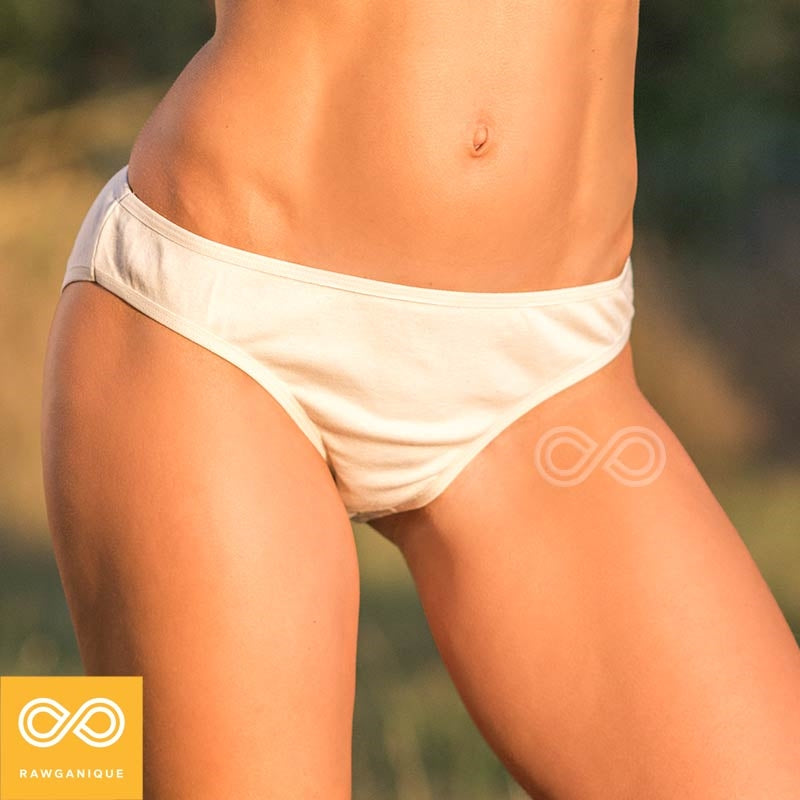 Rebecca Organic Cotton Flat Bottom Panty