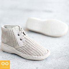 Ladies' Glue-free Handmade Baden-Baden Organic Hemp Shoes