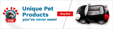 Affiliate Program Pet Stop Store Beds & Blankets Banner