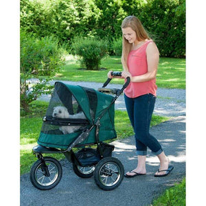 Pet Gear Jogger No-zip Pet Stroller - Forest Green