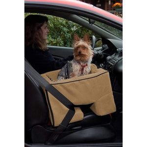Pet Gear Large Dog Booster Car Seat - Tan