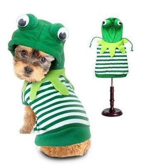 Pet Stop Store 0 Playful Green Dog Frog Costume