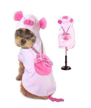 Pet Stop Store 0 Playful Pink Satin  Halloween Pig Costume for Dogs
