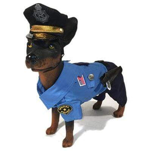 Pet Stop Store 1 Halloween Police Dog Costume