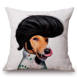 Pet Stop Store 11 / without pillow inner Playful & Unique Eco-Friendly Cartoon Printed Dog Pillow Covers