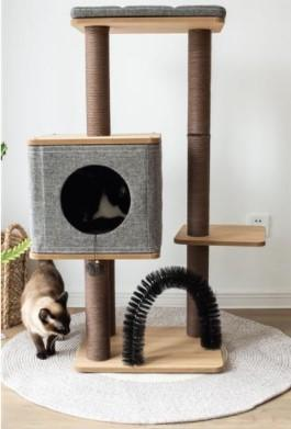 Pet Stop Store 3 Level Activity Tree with Condo