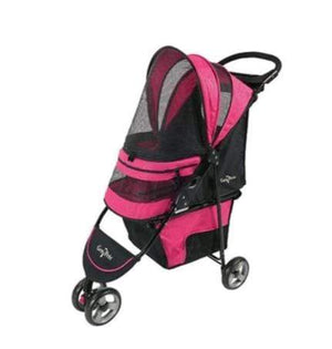 Pet Stop Store Regal Plus Pet Stroller Raspberry Sorbet