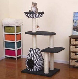 Pet Stop Store Four-Level Activity Tower Condo
