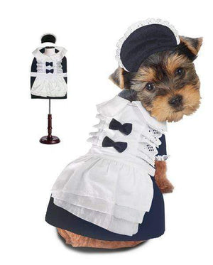 Pet Stop Store French Maid  Dog Costume