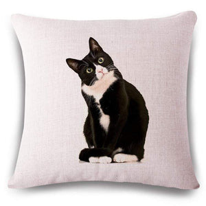 Pet Stop Store 16 / 45x45cm Fun & Playful Decorative Cat Lovers Pillow Covers