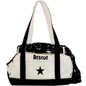 Pet Stop Store Cute Canvas Boat Rescue Over the Shoulder Bag