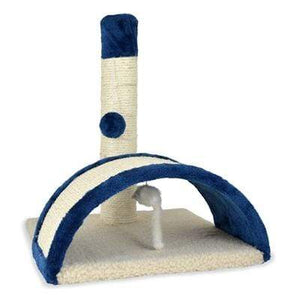 Pet Stop Store Beam & Bow Multi-Textured Cat Scratching Square Toy