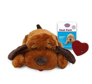 Pet Stop Store Brown Snuggle Puppy Smart Pet with Heartbeat for Dogs