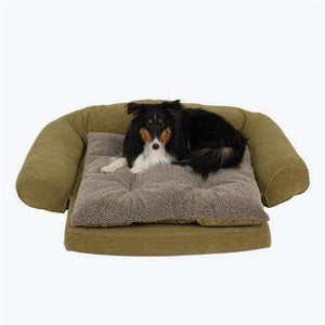 Pet Stop Store Caramel Bed Ortho Sleeper Comfort Dog Couch w/ Removable Cushion