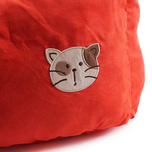 Pet Stop Store Comfy Cozy Square Suede & Cotton Cat Bed Avail in 5 Colors