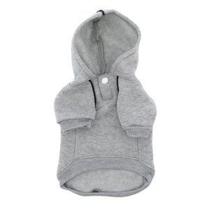 Pet Stop Store Cute Sporty Gray Dog Hoodie