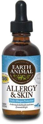 Pet Stop Store Dog Allergy & Skin Remedy Earth Animal 2 oz