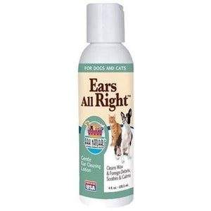 Pet Stop Store Dog & Cat Ears All Right Ark Naturals  4OZ