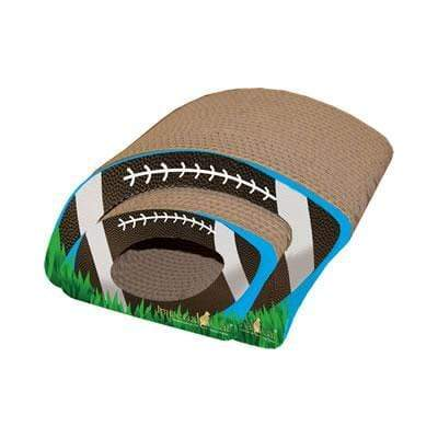 Fun Football Shaped (2-in-1) Scratcher for Cats