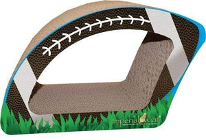 Pet Stop Store Fun Football Shaped (2-in-1) Scratcher for Cats