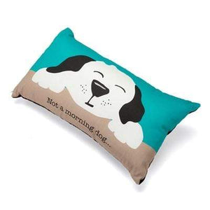 "Pet Stop Store Fun & Playful Not a Morning Dog Accent Pillow 12"" x 20"""