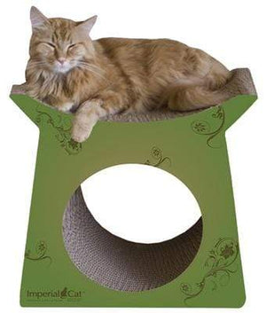 Pet Stop Store Fun Tower Tunnel Scratcher Post for Cats
