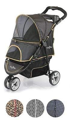 Pet Stop Store G7 Golden Nugget Pet Stroller with Smart Features