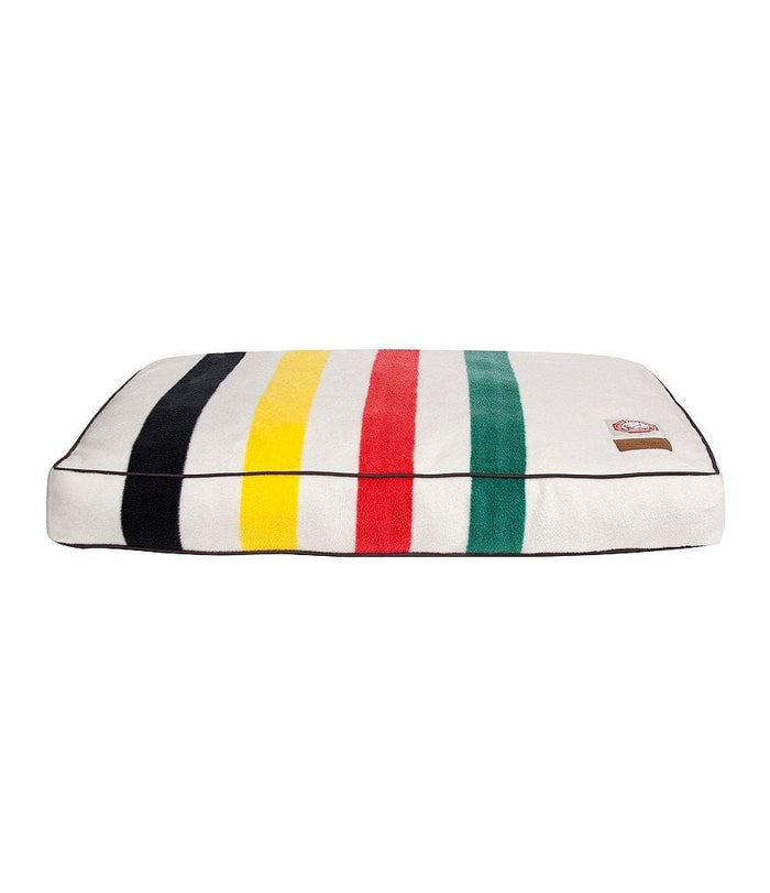 Glacier Striped Design Pattern Pet Bed